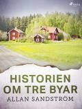 Cover for Historien om tre byar