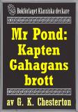 Cover for Mr Pond: Kapten Gahagans brott. Återutgivning av text från 1937