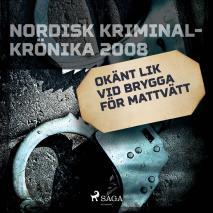 Cover for Okänt lik vid brygga för mattvätt
