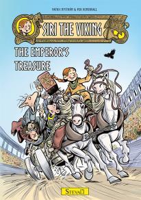Cover for Siri the viking - The emperor´s treasure