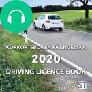 Cover for Körkortsboken på engelska 2020: Driving licence book