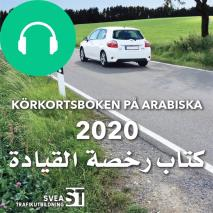 Cover for Körkortsboken på Arabiska 2020