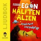 Cover for Egon - hälften alien: Släkten invaderar