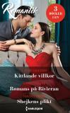 Cover for Kittlande villkor/Romans på Rivieran/Shejkens plikt