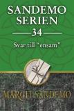 """Cover for Sandemoserien 34 - Svar till """"ensam"""""""