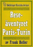 Cover for Reseäventyret Paris—Turin. Återutgivning av text från 1935
