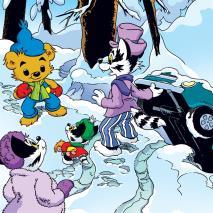 Cover for Del 2: Familjen Grävling har bekymmer