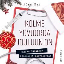 Cover for Kolme yövuoroa jouluun on