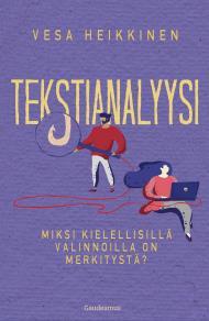 Cover for Tekstianalyysi