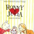 Cover for Ronny & Julia vol 5: Ronny & Julia får en hund