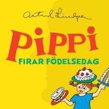 Cover for Pippi firar födelsedag