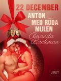 Cover for 22 december: Anton med röda mulen - en erotisk julkalender