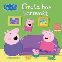 Cover for Greta har barnvakt