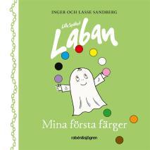 Cover for Lilla Spöket Laban – Mina första färger