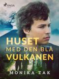 Cover for Huset med den blå vulkanen