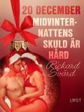 Cover for 20 december: Midvinternattens skuld är hård - en erotisk julkalender