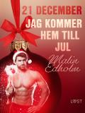 Cover for 21 december: Jag kommer hem till jul - en erotisk julkalender