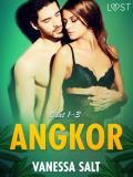 Cover for Angkor osat 1–3: eroottinen novellikokoelma