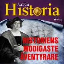 Cover for Historiens modigaste äventyrare