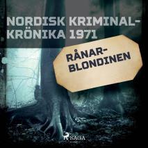Cover for Rånarblondinen