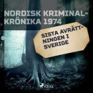 Cover for Sista avrättningen i Sverige