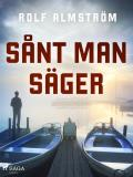 Cover for Sånt man säger