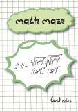 Cover for Math Maze 1