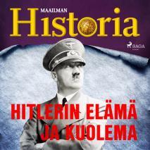 Cover for Hitlerin elämä ja kuolema