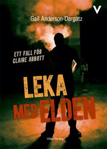 Cover for Leka med elden