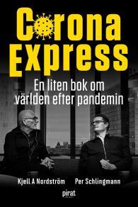 Cover for Corona Express - en liten bok om världen efter pandemin