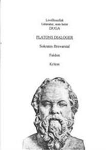 Cover for Platons dialoger; Sokrates Försvarstal, Faidon, Kriton