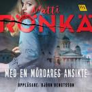 Cover for Med en mördares ansikte