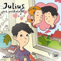 Cover for Julius och pusskalaset