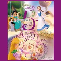 Cover for 5 minuters godnattsagor Disney prinsessor