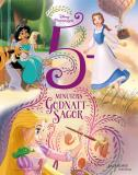 Cover for 5 minuters godnattsagor Disney prinsessor