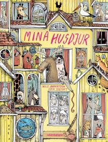 Cover for Mina husdjur
