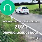 Cover for Körkortsboken på engelska 2021: Driving licence book