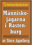 Cover for Människojägarna i Rastenburg. Återutgivning av text från 1944