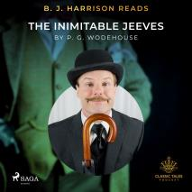 Cover for B. J. Harrison Reads The Inimitable Jeeves