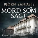 Cover for Mord som sagt