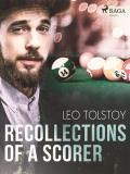 Cover for Recollections of a scorer