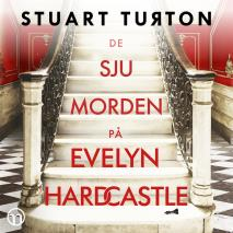 Cover for De sju morden på Evelyn Hardcastle