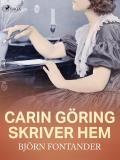 Cover for Carin Göring skriver hem