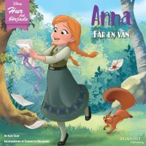 Cover for Anna får en vän
