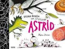 Cover for Stora boken om Spyflugan Astrid
