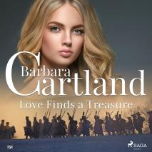 Cover for Love Finds a Treasure (Barbara Cartland's Pink Collection 151)
