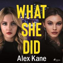 Cover for What She Did