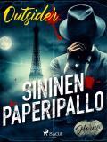 Cover for Sininen paperipallo
