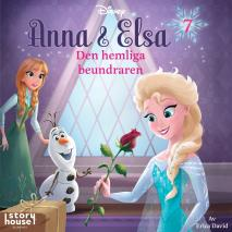 Cover for Anna & Elsa #7: Den hemliga beundraren