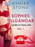 Cover for Sophies tillgångar vol. 1: Ljudet av hans röst - erotisk novell